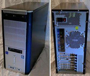 GamePC systeemkast AMD Athlon X2 6000+