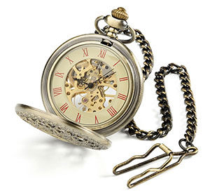 Horloge - De openingstijden van Jeroen's techniek.